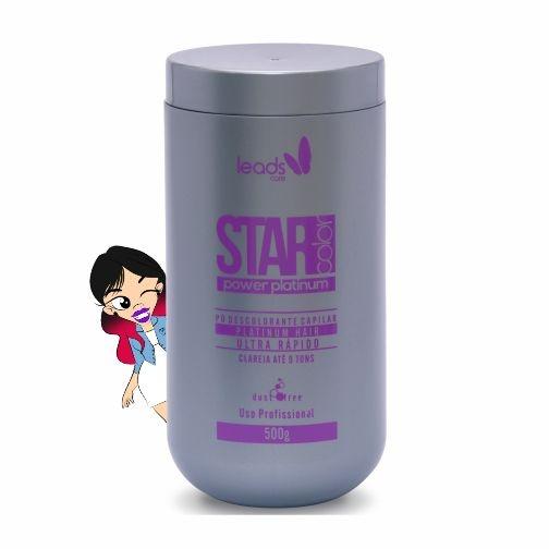 Star Color Power Platinum Pó Descolorante 500 gr