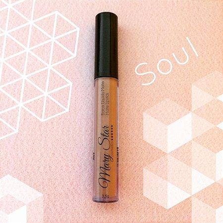 Batom Líquido Matte Mary Star Cosmetics - Cor Soul