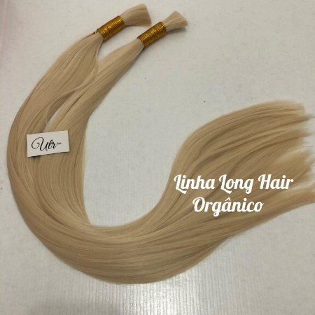 Linha Long Hair Orgânico Fio a Fio UltraHair  - Loiro Claríssimo - 70 cm - 160 gramas por pacote