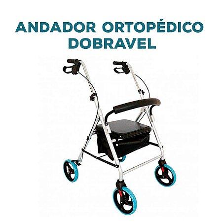 ANDADOR ORTOPEDICO DOBRAVEL MELHOR PRECO