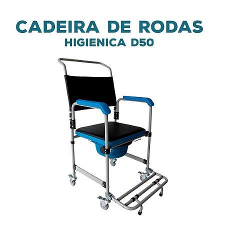 CADEIRA DE RODAS  HIGIENICA D50