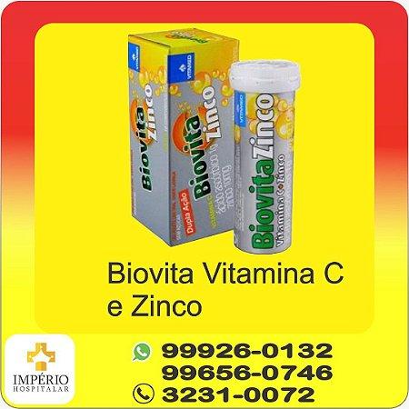 BIOVITA VITAMINA C + ZINCO