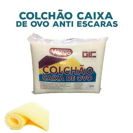 COLCHAO CAIXA DE OVO ANTI ESCARAS
