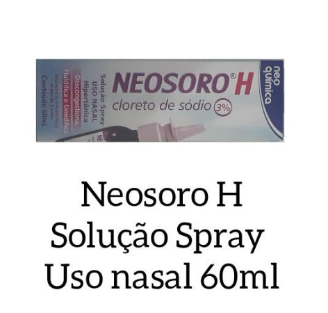 NEOSORO H SOLUCAO SPRAY