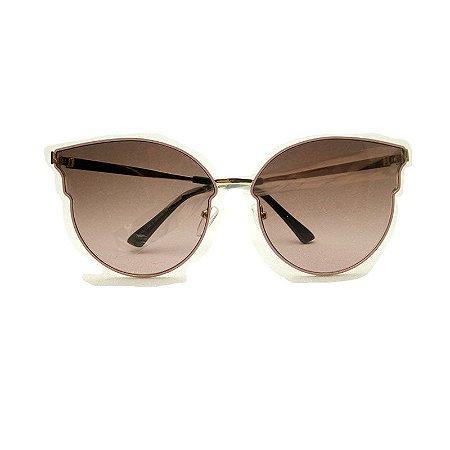 Óculos armação metal gatinho lente degradé - CatEye oferece oculos ... 6124b8e40f