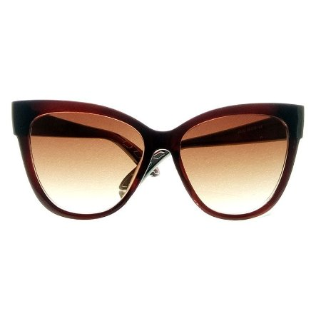 Óculos de Sol Gatinho CAT EYE Marrom Lentes Marrom - CatEye oferece ... 13aa75ff57