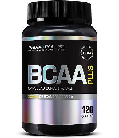 BCAA PLUS 800 COM 120 CAPSULAS