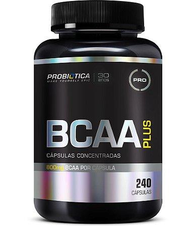 BCAA PLUS 800 COM 240 CAPSULAS