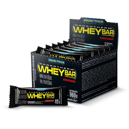 WHEY BAR LOW CARB 24 UN 40 GR