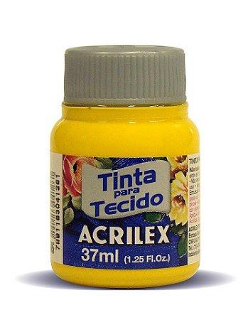 Tinta para Tecido Fosca 37ml Amarelo Ouro Acrilex