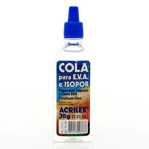 Cola para Isopor EVA 35g Acrilex