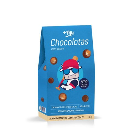 Chocolotas +Mu - Avelã - 60g