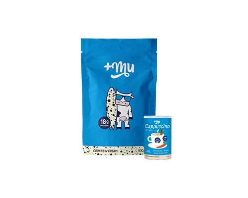 Lançamento | 1 Refil Cookies Tradicional + 1 Cappuccino +Mu