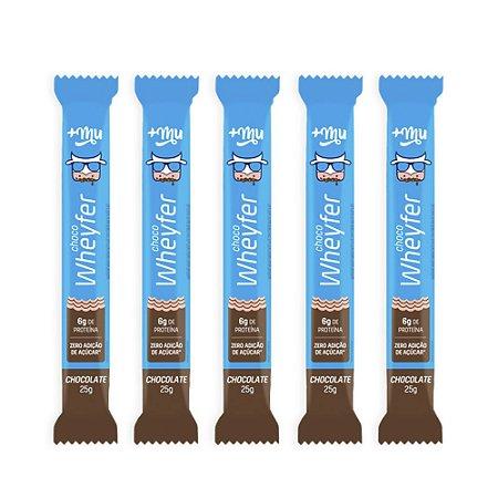 Leve 5 e Pague 4 | Chocowheyfer +Mu - Chocolate 25g