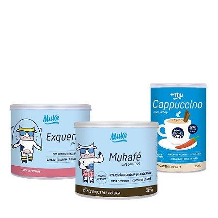 Combo Mukafé + Exquenta + Cappuccino