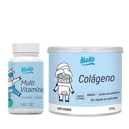 Muke Care Combo Multivitamínico + Colágeno