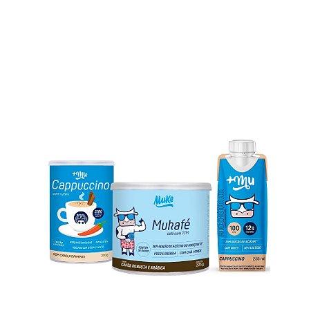 Compre 1 Cappuccino +Mu + 1 Mukafé Muke e Ganhe 1 +Mu Pronto sabor Cappuccino