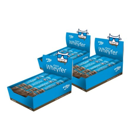 Chocowheyfer +Mu Chocolate (3 Caixas - 36 Unidades) 900g | +Mu Snacks