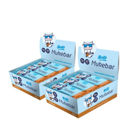 Mukebar Muke - Pão de Mel - (2 Caixas de 12 unidades) - 720g
