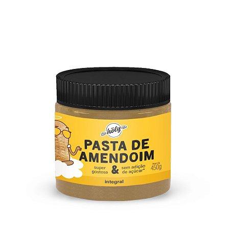 Pasta de Amendoim Integral Holy (450g) | Pastas Holy