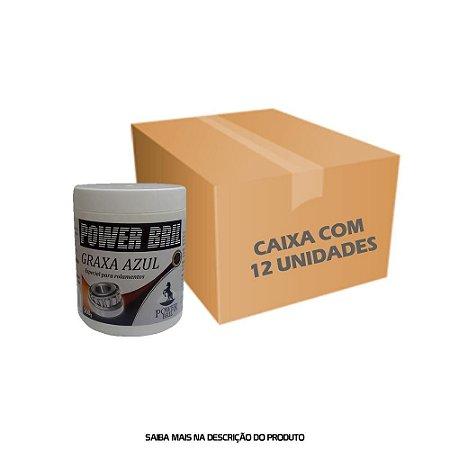 Graxa Azul Especial para Rolamentos 500g - Caixa com 12 unidades