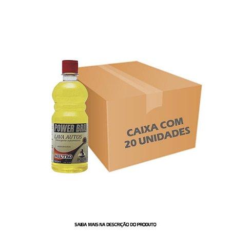 Lava Autos Neutro 500ml - Caixa com 20 unidades