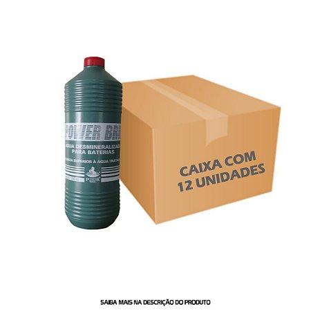 Água Desmineralizada para Baterias 1000ml - caixa com 12 unidades