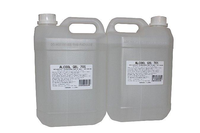 Álcool Gel 70% Galão 5 Litros - Dermagel - 1 unidade