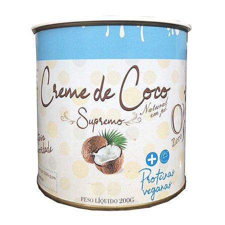 Creme de Coco Supremo - Leite de coco em pó 100% puro - 200g