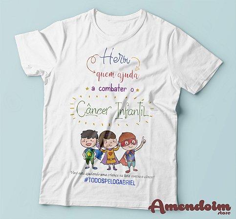 Camiseta Todos pelo Gabriel
