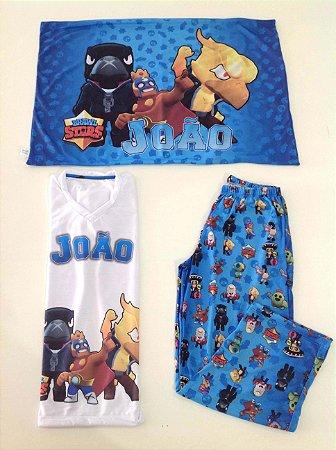 Pijama Personalizado Brawl Stars