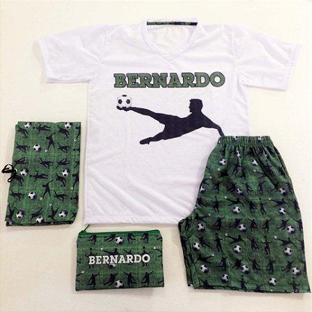 Pijama Personalizado Futebol