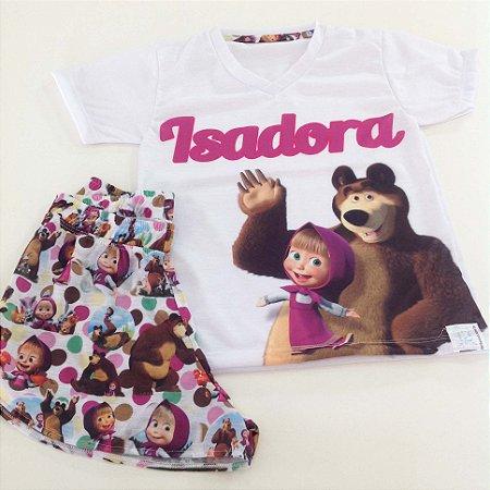 Pijama Personalizado Masha