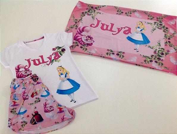 Pijama Personaliado Alice