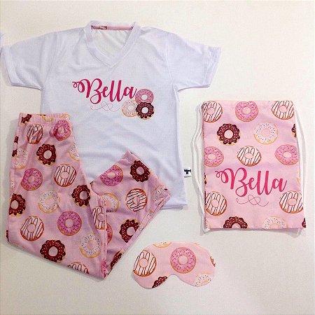 Pijama Personalizado Donuts