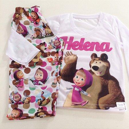 Pijama Personalizado PERSONAGENS Feminino