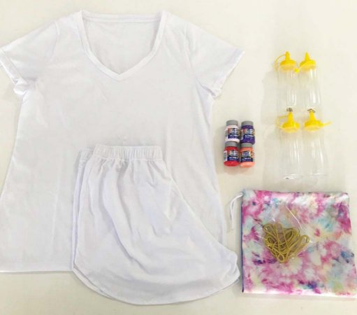 Kit DIY Tie Dye - FEMININO