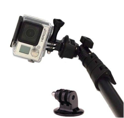 Bastão Extensor Para Câmera De Ação E Smartphones Selfie Picture Monopod