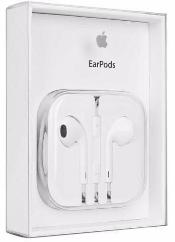 Fone Ouvido Compatível com Apple, com Microfone e Controle de Volume