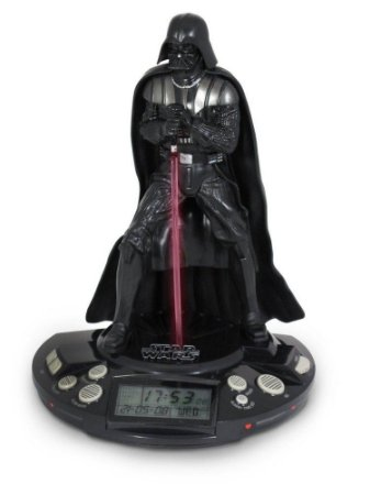 Rádio Relógio e Alarme Darth Vader Star Wars