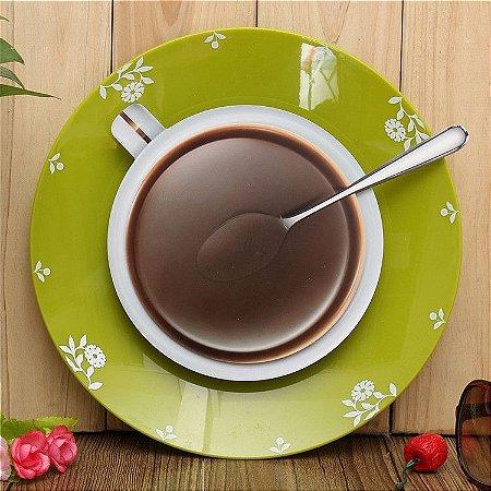 Relógio de Parede Coffee Time Up