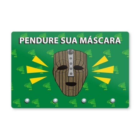 Pendura Máscara 20x13cm - LOKI