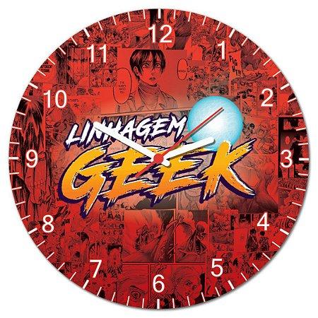 Relógio de Parede - Linhagem Geek - Licenciado