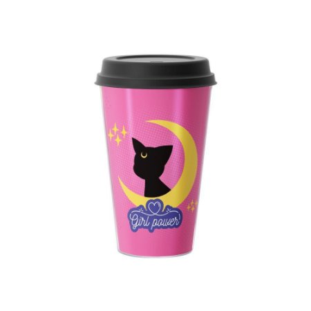 Copo Café 500ml - GIRL POWER CAT