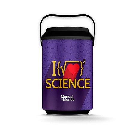 Cooler 10 Latas MANUAL DO MUNDO - Raiz Science (preto)
