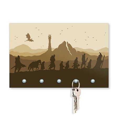 Porta Chaves 20x13 - Jornada (Colorido)