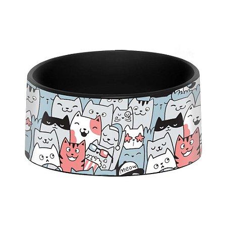 Comedouro e Bebedouro Pet - Gatinhos padrão
