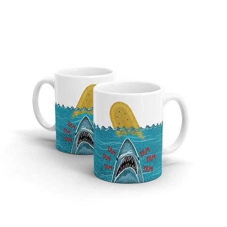 Caneca Cerâmica - Tubarão
