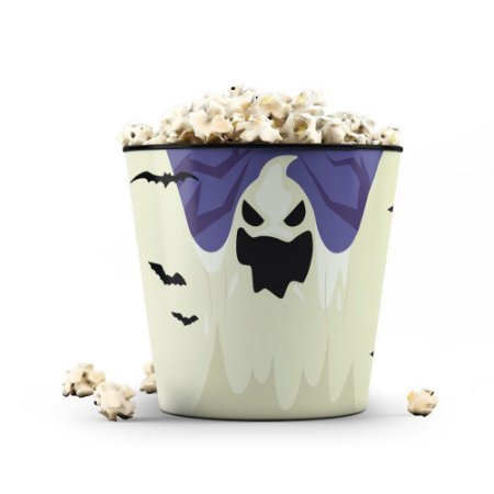 Balde de Pipoca 3,5 litros - Halloween Fantasma