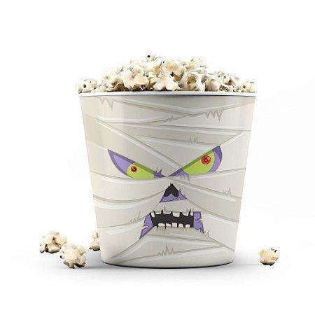 Balde de Pipoca 3,5 litros - Halloween Múmia